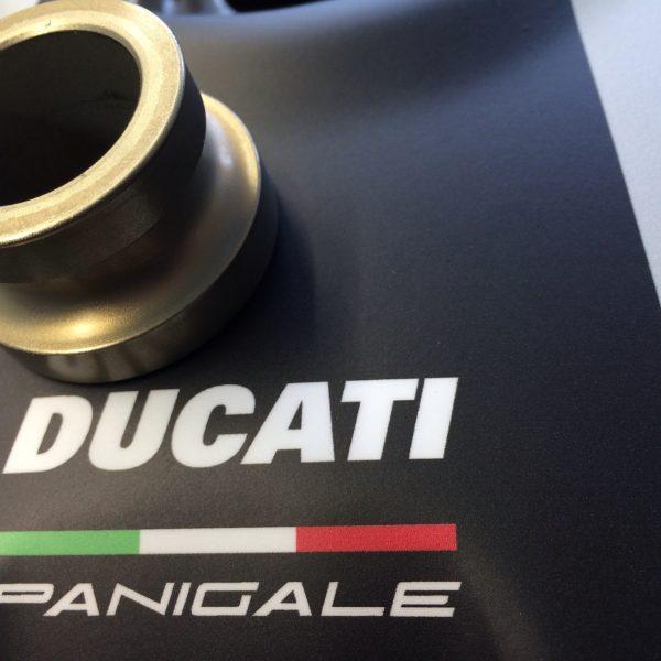 Ducati Vorderradhülsen Satz Aluminium